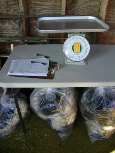Systems for categorizing and tracking fleeces.
